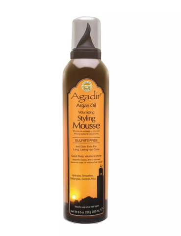 Agadir Argan Oil Styling Mousse 252ml