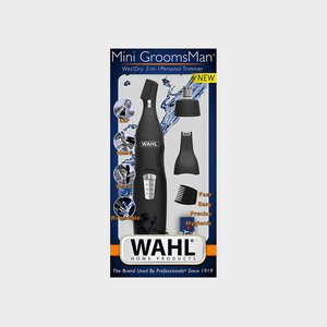 Wahl Mini GroomsMan Wet/Dry 3-in-1 Personal Trimmer