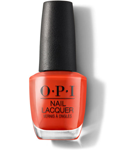 OPI Lisbon Collection Nail Polish - A Red-vival City