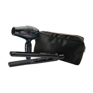 BabylissPro Ceramic Straightening Iron & Travel Dryer