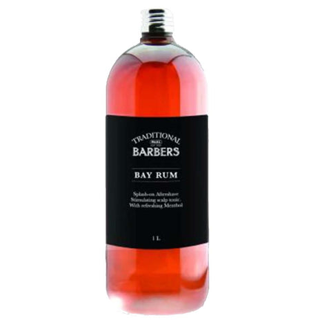 Wahl Traditional Barbers Bay Rum - 1 Litre