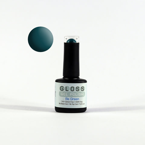 Gloss Full Cure UV/LED Gel Polish - Be Green