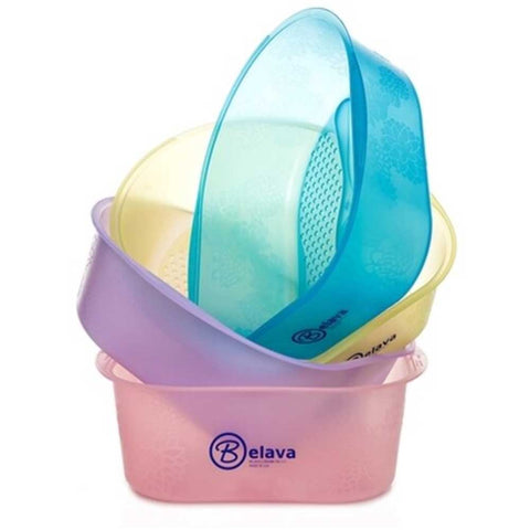 Belana Foot Bath with Liners - Blue