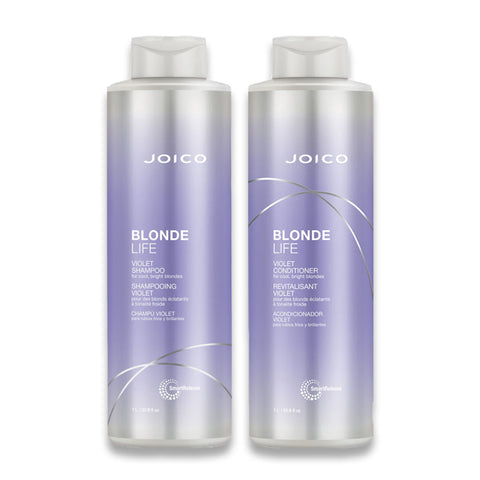 Joico Blonde Life Violet Shampoo & Conditioner Duo 1L