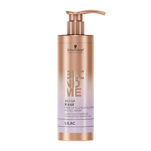 Schwarzkopf BlondMe Blush Wash Lilac 250ml