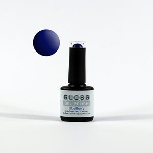 Gloss Full Cure UV/LED Gel Polish - Blueberry