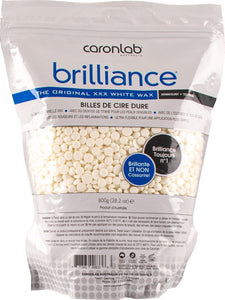 Caronlab Hard Wax Brilliance White Beads - 800gm