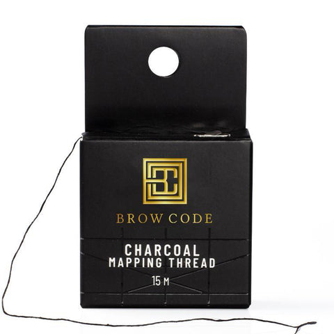 Brow Code Charcoal Mapping Thread