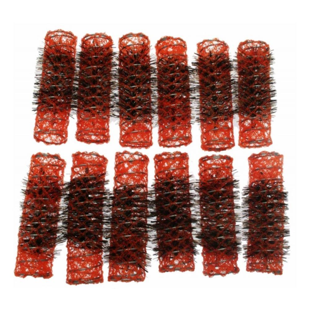 Santorini Brush Rollers - Orange 20mm - 12pk