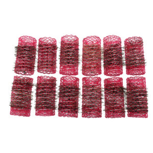 Santorini Brush Rollers - Red 33mm - 12pk