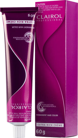 CLAIROL PERMANENT COLOUR  7.2 - 60g