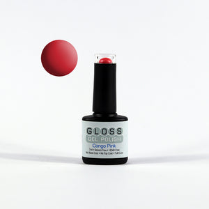 Gloss Full Cure UV/LED Gel Polish - Congo Pink