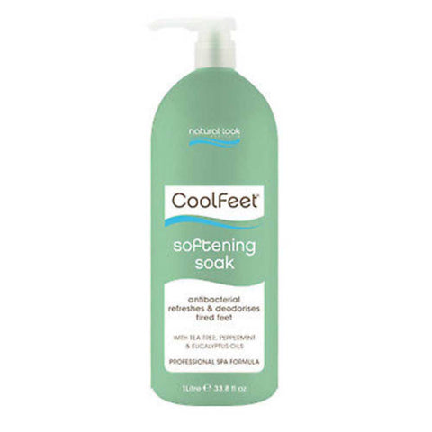 Natural Look Cool Feet Softening Soak 1 Litre