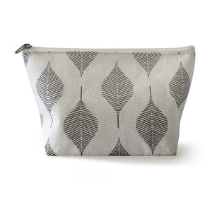 Cosmetics Bag - Leaf Print