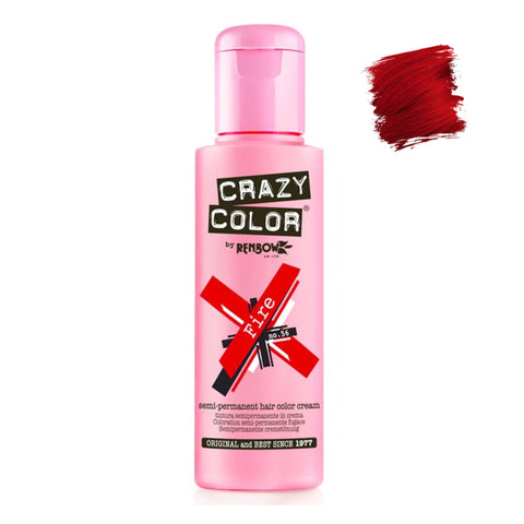 Renbow Crazy Color Semi Permanent - Fire #56 100ml