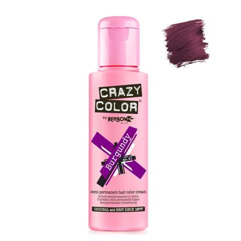Renbow Crazy Color Semi Permanent - Burgundy #61 100ml