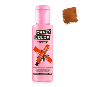 Renbow Crazy Color Semi Permanent - Coral Red #57 100ml