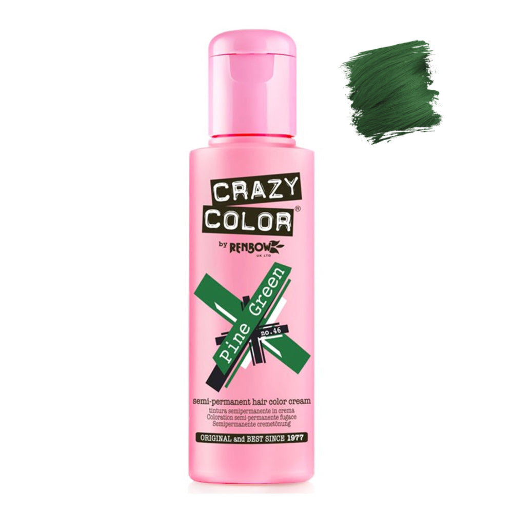 Renbow Crazy Color Semi Permanent - Pine Green #46 100ml