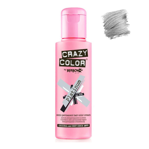Renbow Crazy Color Semi Permanent - Platinum #028 100ml