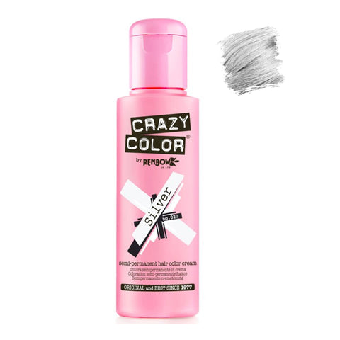 Renbow Crazy Color Semi Permanent - Silver #027 100ml