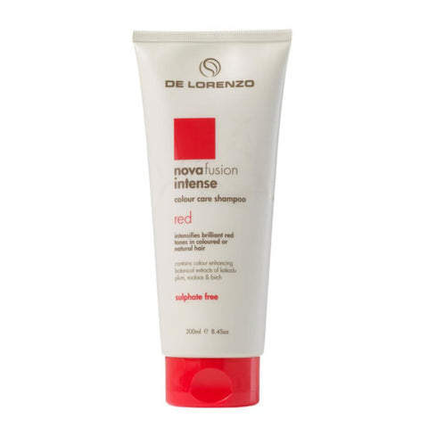 De Lorenzo Novafusion Intense Red Shampoo - 200ml