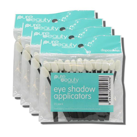 Pure Beauty Santorini Eye Shadow Applicators - 100pk