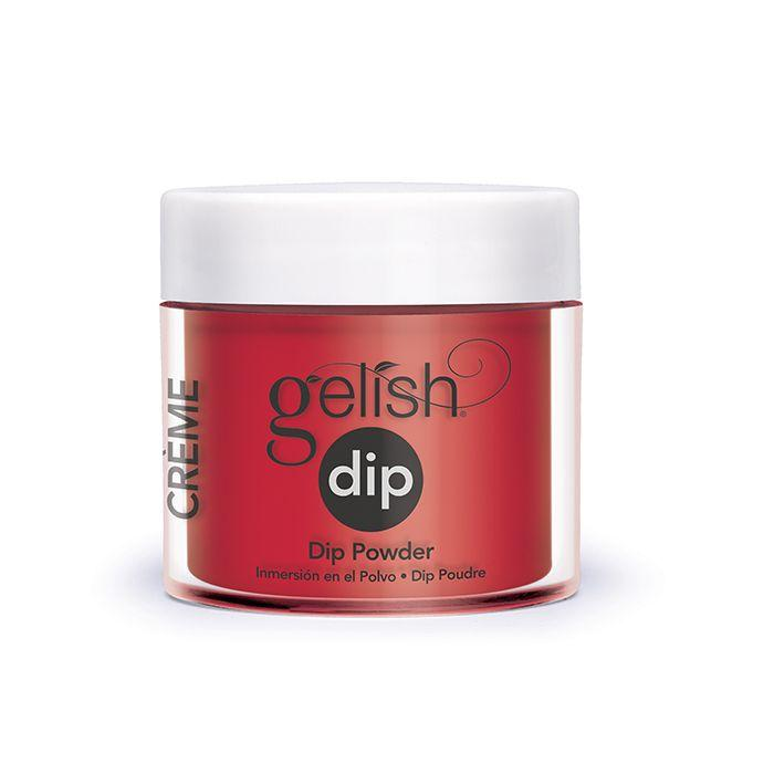 Gelish Dip - Hot Rod Red