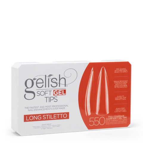 Soft Gel Tips Long Stiletto