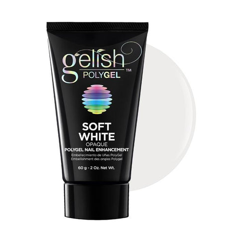 Gelish Polygel Opaque Nail Enhancement 60g  - Soft White