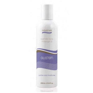 Natural Look Lavender Glisten Massage Oil 250ml