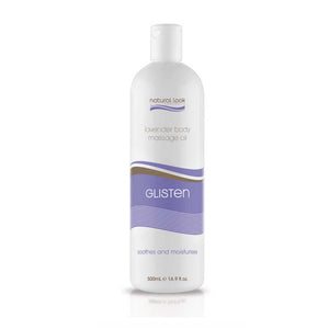 Natural Look Lavender Glisten Massage Oil 500ml