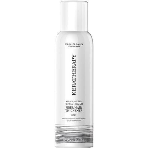 Keratherapy Fiber Hair Thickener- Gray 140ml