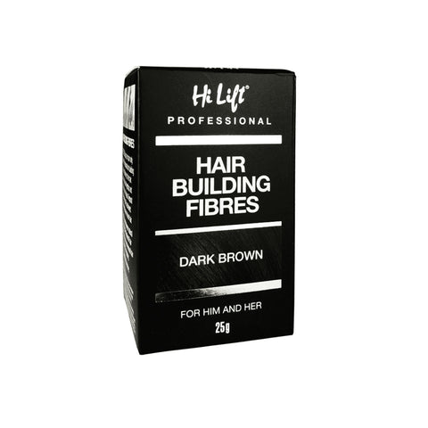 Hi Lift Hair Building Fibres 25g - Dark Brown