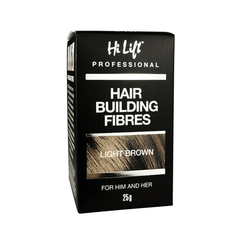 Hi Lift Hair Building Fibres 25g - Light Brown