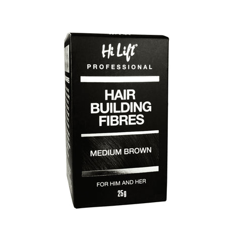 Hi Lift Hair Building Fibres 25g - Medium Brown