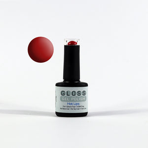 Gloss Full Cure UV/LED Gel Polish - Hot Lips
