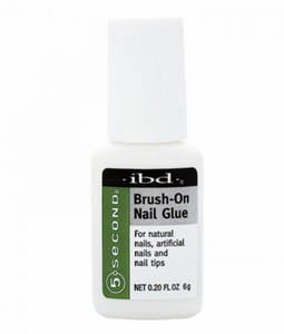 ibd Brush-On Nail Glue- clear 6gr