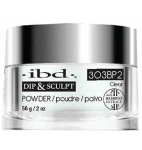 IBD Dip & Sculpt Clear Powder 56gr