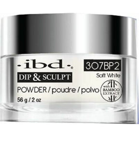 IBD Dip & Sculpt Soft White Powder 56gr