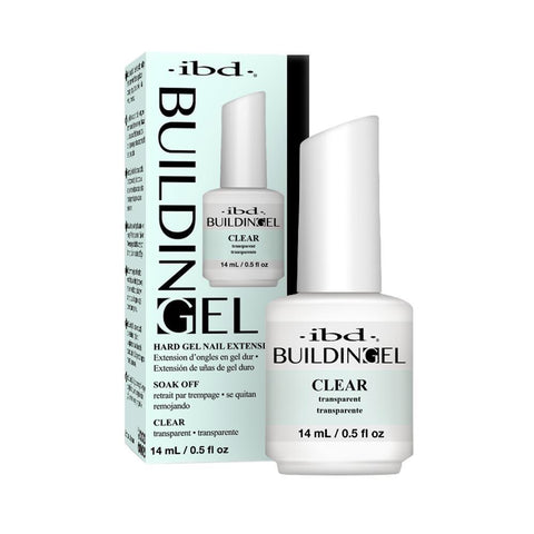 IBD Building Gel Hard Nail Extension - Clear Gel 14g
