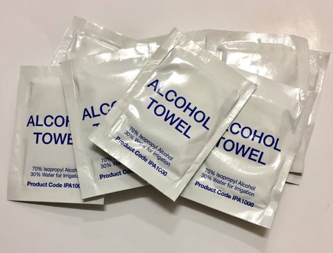 Alcohol Towels 10pk