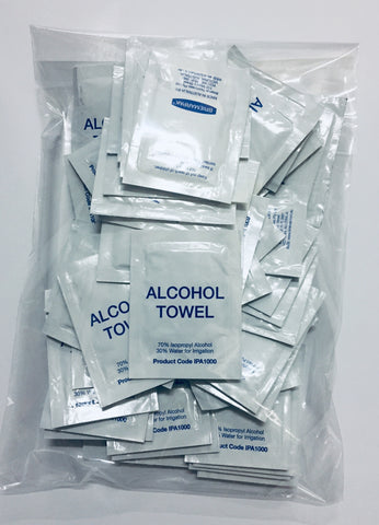 Alcohol Towels 50pk