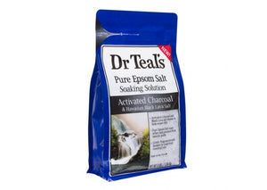 Dr Teal's Pure Epsom Salt Activated Charcoal 1.36kg