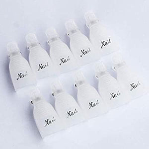Gel Soak Off Clip 10pk - various colours