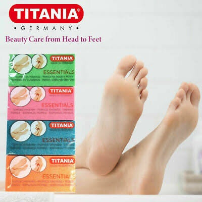 Titania Pedi Pumice Sponge- Assorted Colours
