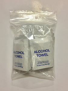 Alcohol Towels 25pk