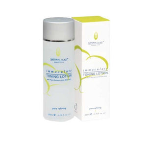 Natural Look Immaculate Toning Lotion 200ml