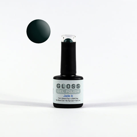 Gloss Full Cure UV/LED Gel Polish - Jade It