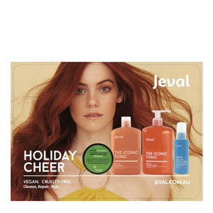 Jeval Hair Holiday Cheer Pack