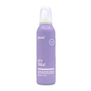 Jeval Icy Treat Leave-in Blonde Toning Reconstructor Mousse 200ml